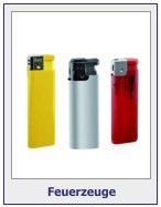 Feuerzeuge mit Werbeaufdruck