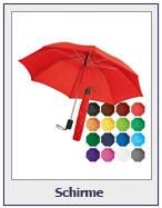 Schirme, Regenschirme, Sonnenschirme