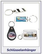 Schlüsselanhänger mit Werbeaufdruck